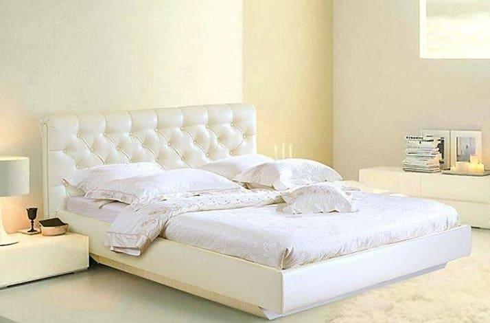 Кровать из экокожи КН-1