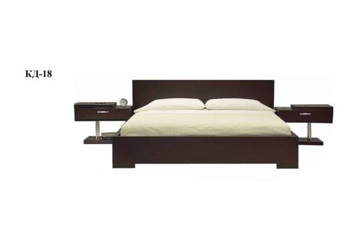 Кровать двуспальная КД-18