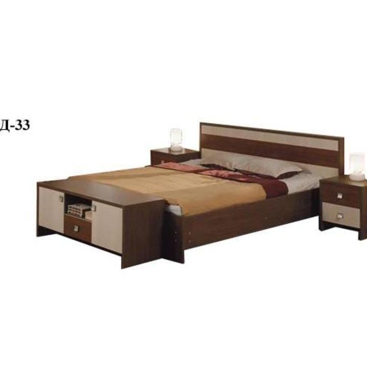 Кровать двуспальная КД-33