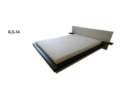 Кровать двуспальная КД-34