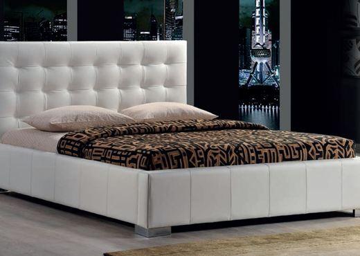 Кровать из экокожи КН-10
