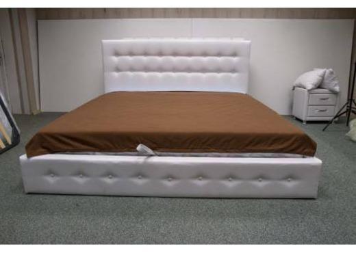 Кровать из экокожи КН-12