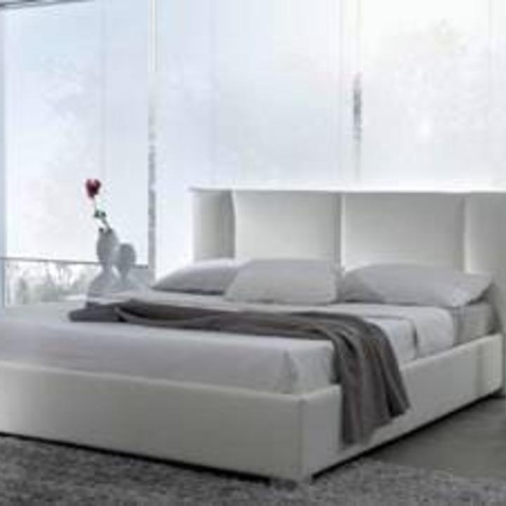 Кровать из экокожи КН-15