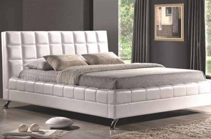 Кровать из экокожи КН-18