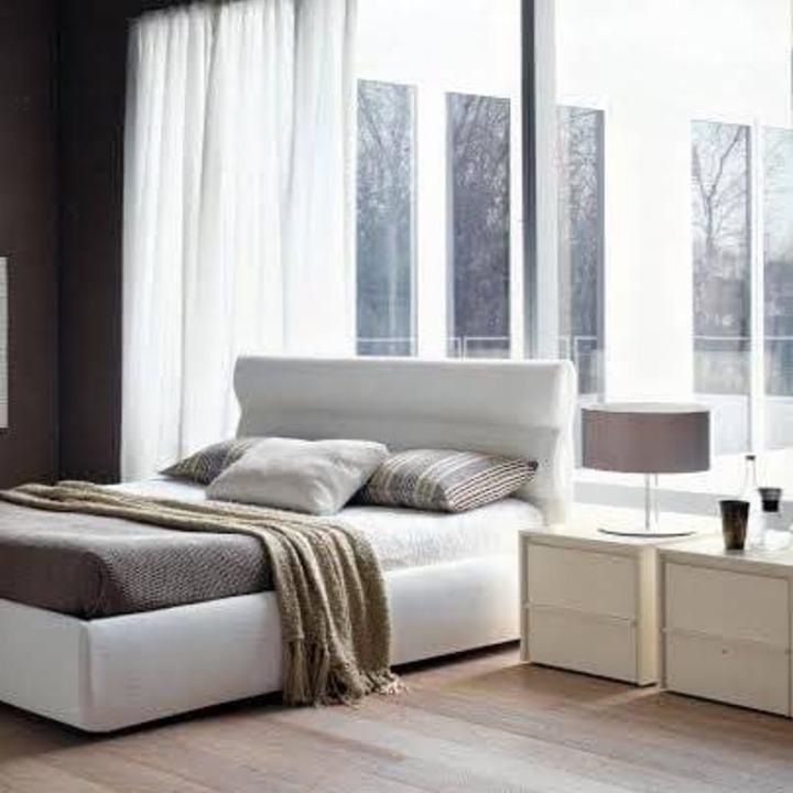 Кровать из экокожи КН-4