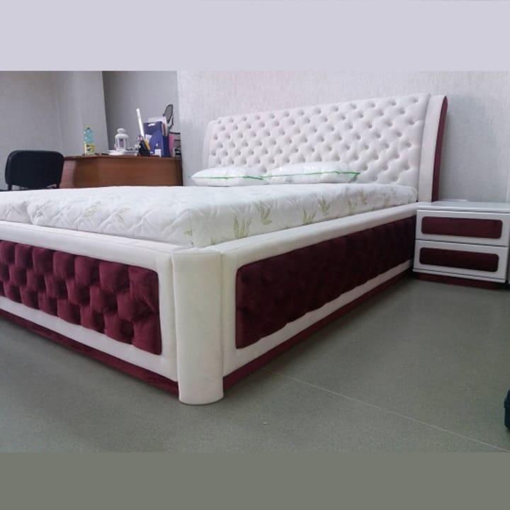 Кровать с каретной стяжкой КС-100