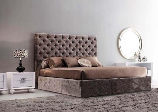 Кровать с каретной стяжкой КС-103