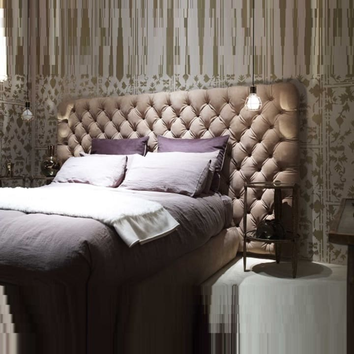 Кровать из экокожи КН-332