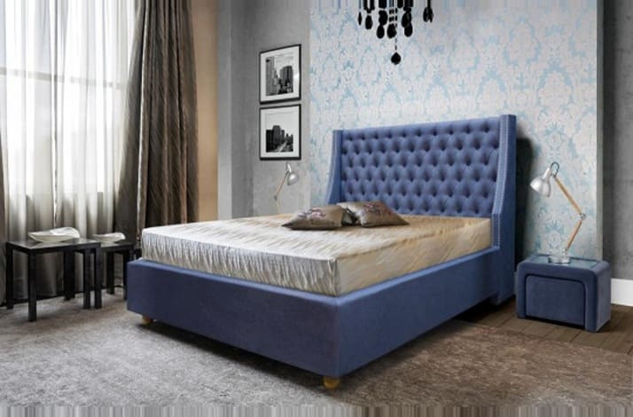 Кровать с каретной стяжкой КС-106