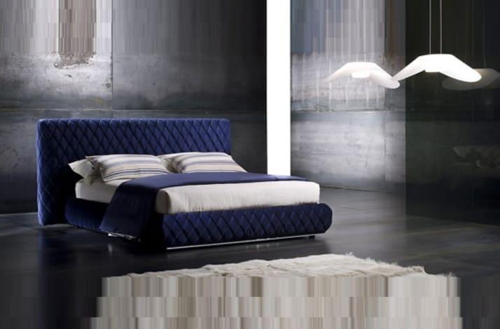 Кровать из экокожи КН-333