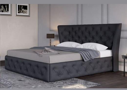 Кровать с каретной стяжкой КС-108
