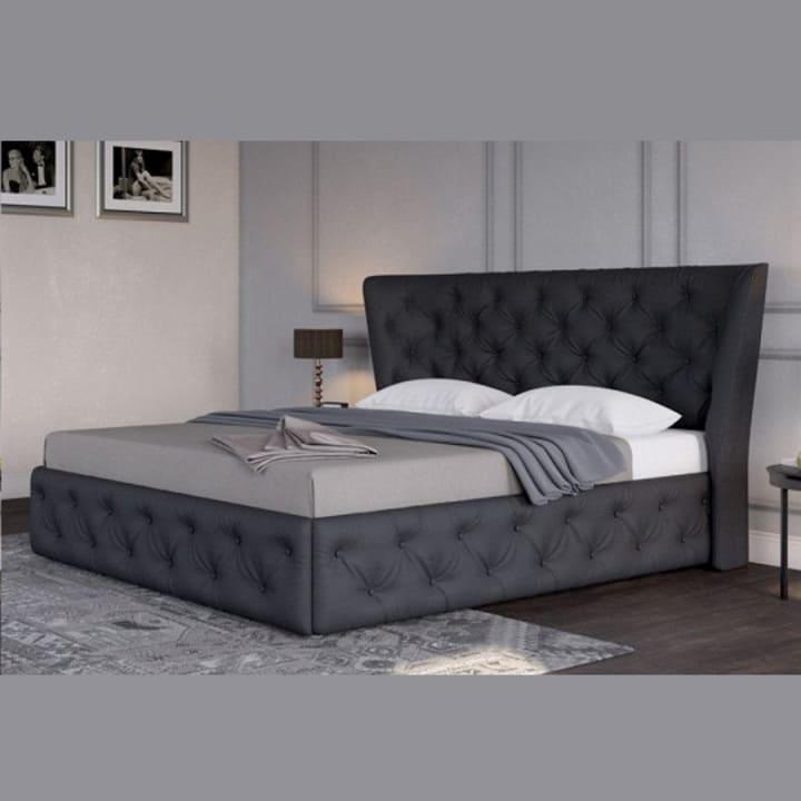 Кровать из экокожи КН-334