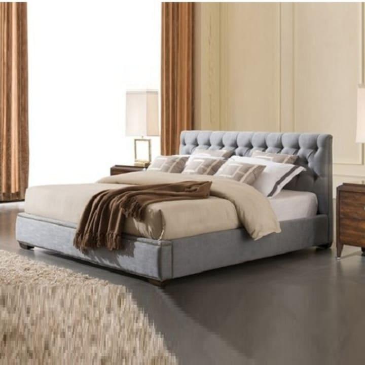 Кровать из экокожи КН-330