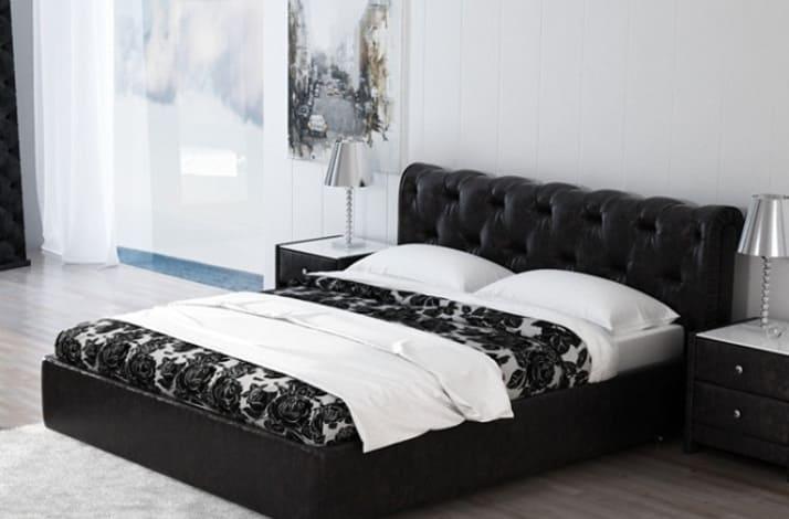Кровать с каретной стяжкой КС-66