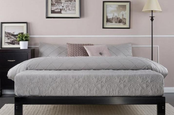 Кровать из массива без спинки КБС-1