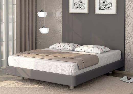 Кровать без спинки из экокожи КБС-10