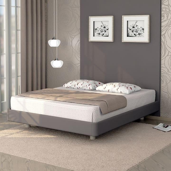 Кровать из экокожи КН-309