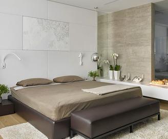 Кровать из экокожи КH-310