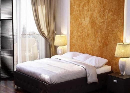 Кровать без спинки из экокожи КБС-12