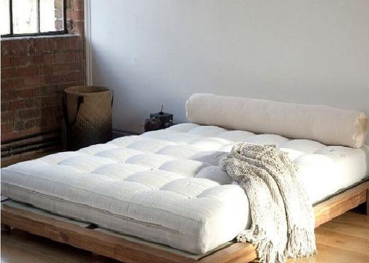 Кровать из дерева без спинки КБС-4