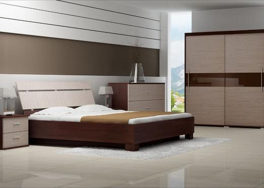 Кровать из массива КМ 408