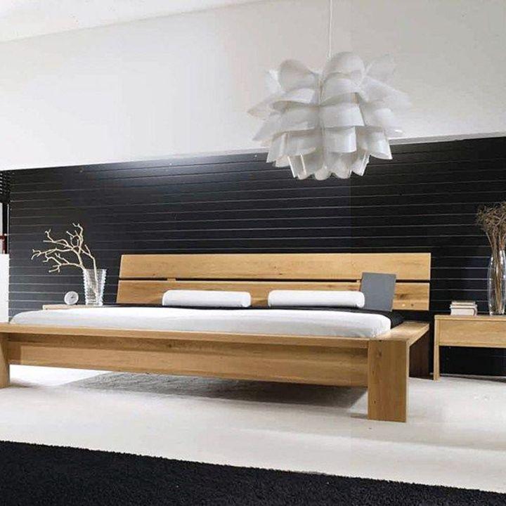 Кровать из массива КМ 411