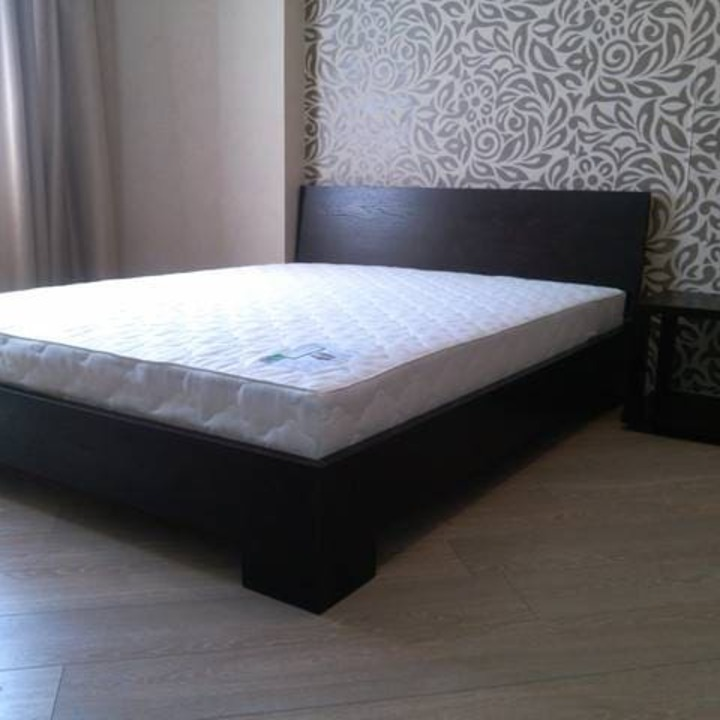 Кровать из массива КМ 412