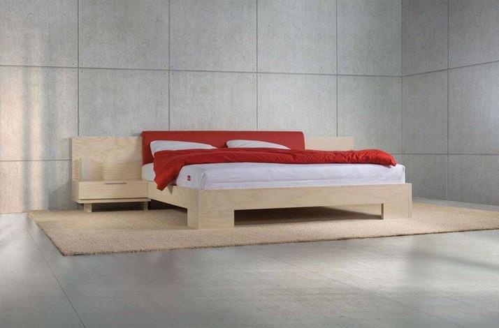 Кровать из массива КМ 413