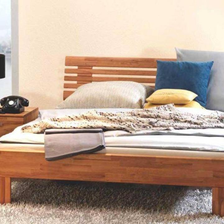 Кровать из массива КМ 417