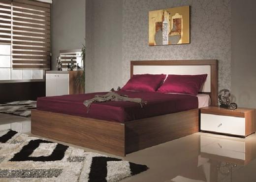 Кровать из массива КМ 422