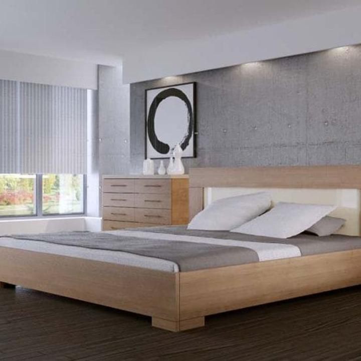 Кровать из массива КМ 423
