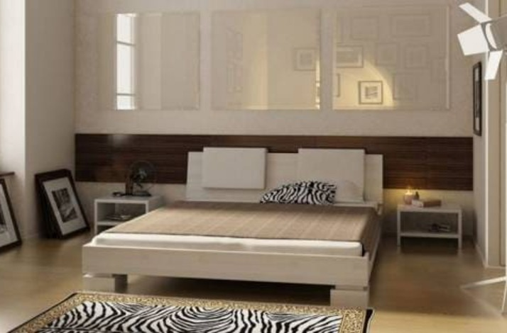 Кровать из массива КМ 429