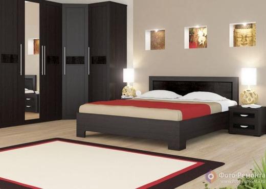 Кровать из массива КМ 433