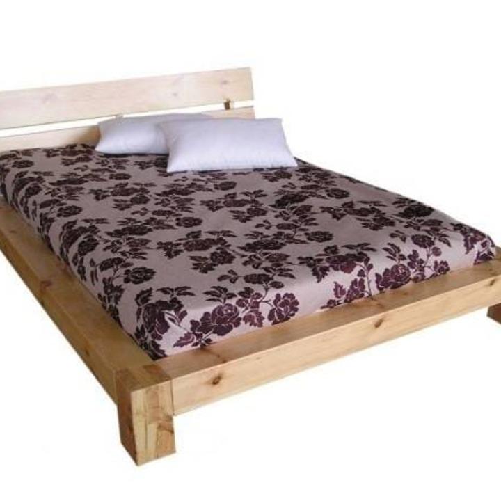Кровать из массива КМ 441