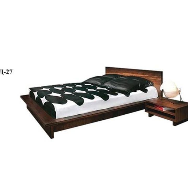 Кровать из массива КМ 442