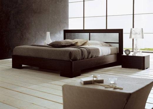 Кровать из массива КМ 447
