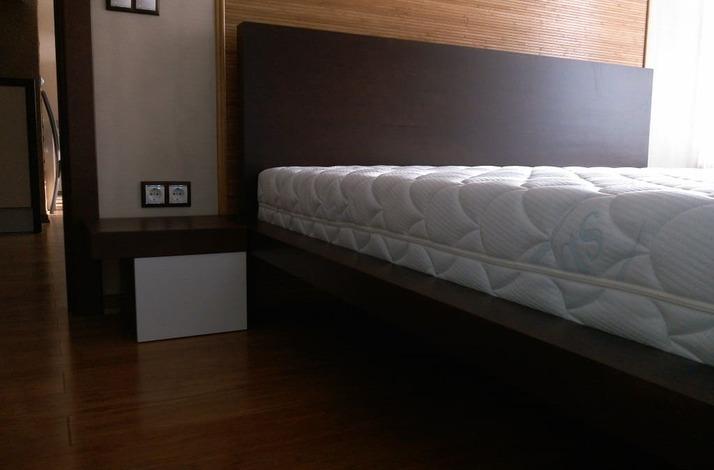 Кровать из массива КМ 449