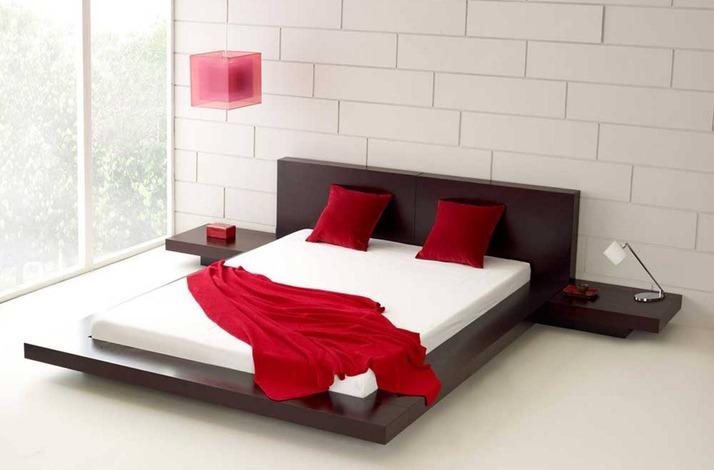 Кровать из массива КМ 455