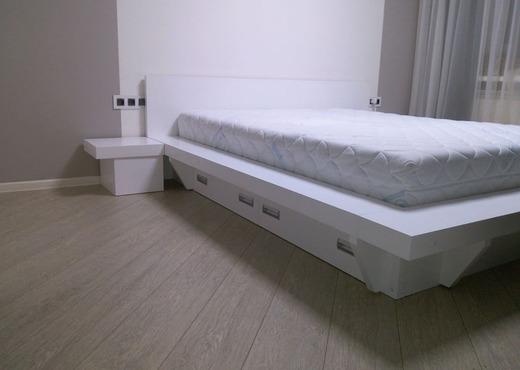 Кровать из массива КМ 459