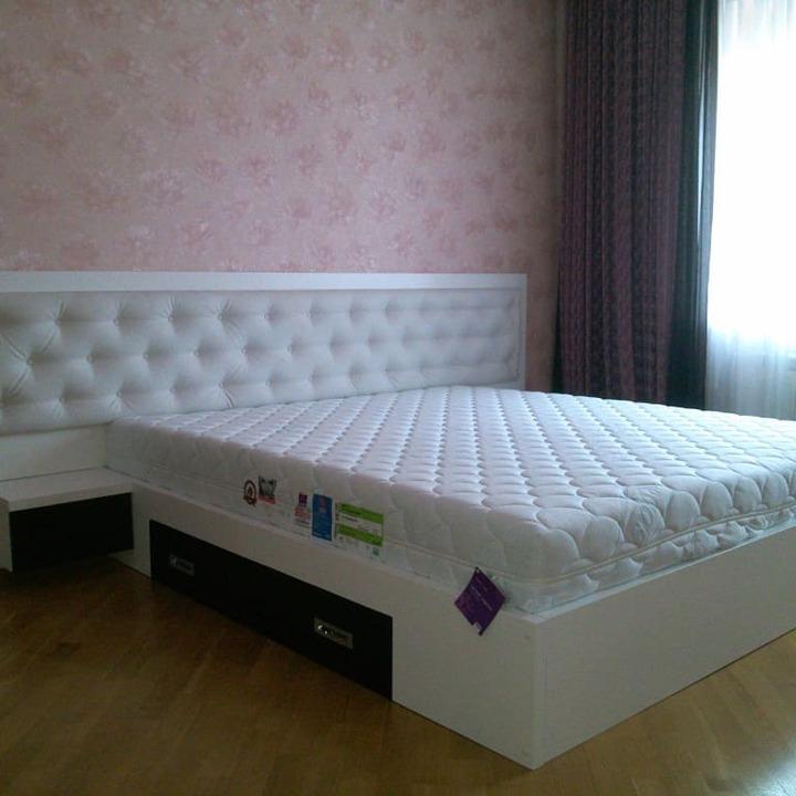 Кровать из массива КМ 460