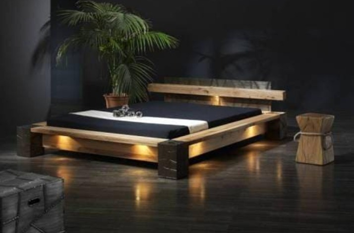 Кровать из массива КМ 465