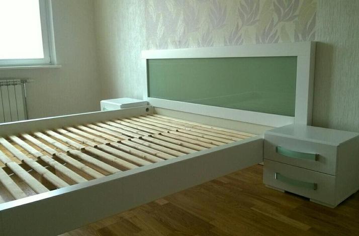 Кровать из массива КМ 466