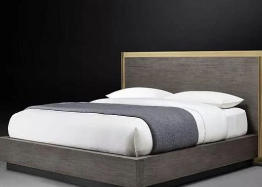 Кровать из массива КМ 467
