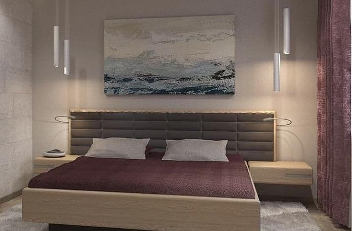 Кровать из массива КМ 474