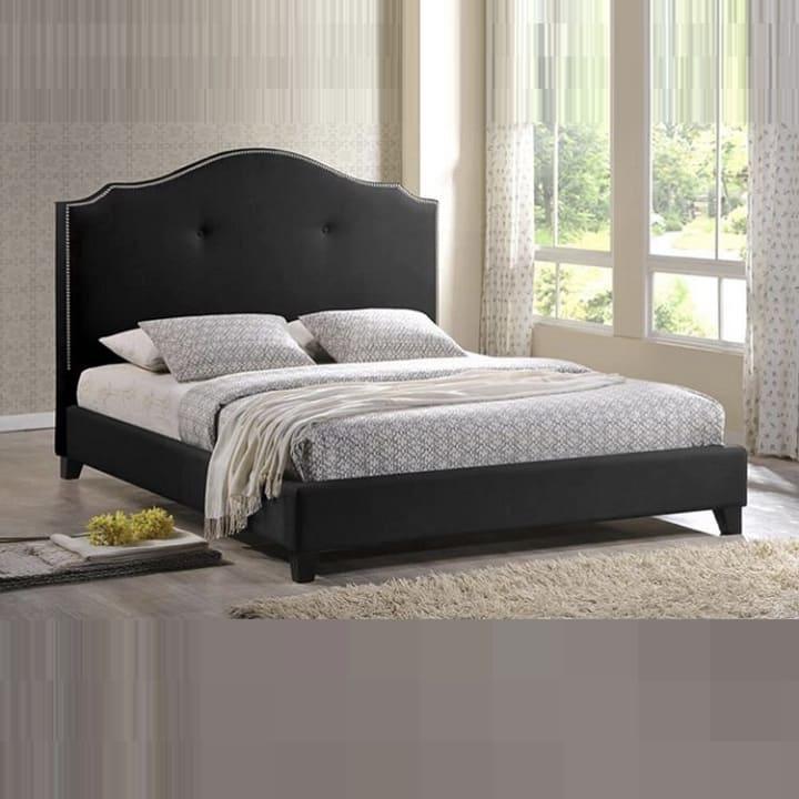 Кровать из экокожи КН-373