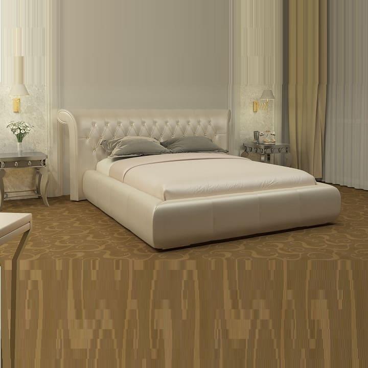 Кровать из экокожи КН-312