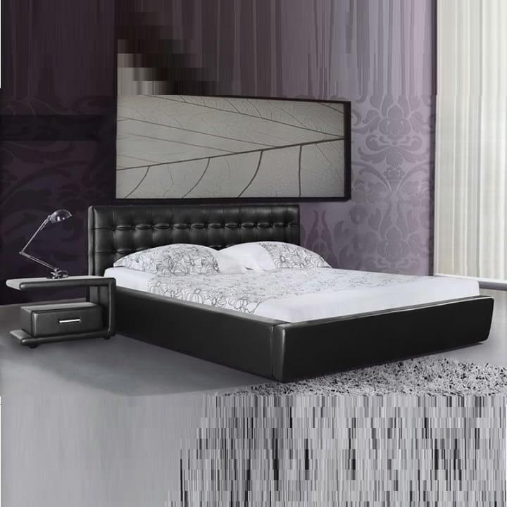 Кровать из экокожи КН-313