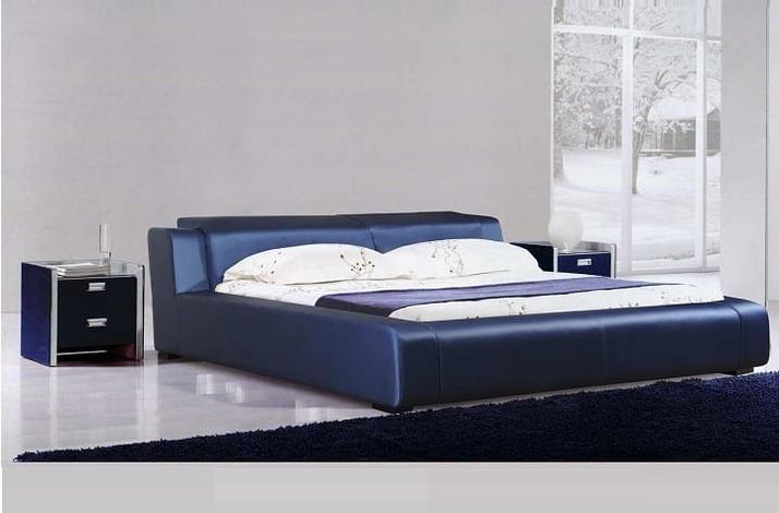 Кровать из экокожи КН-315