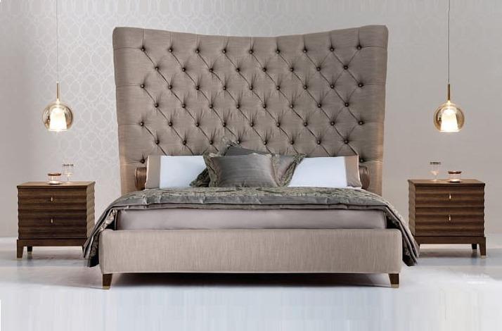 Кровать из экокожи КН-317