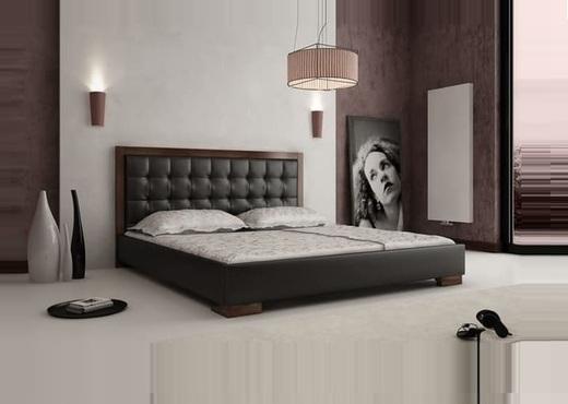 Кровать из экокожи КН-32